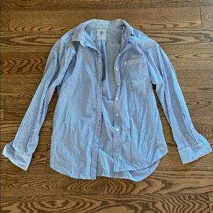 Talula boyfriend fit cotton shirt